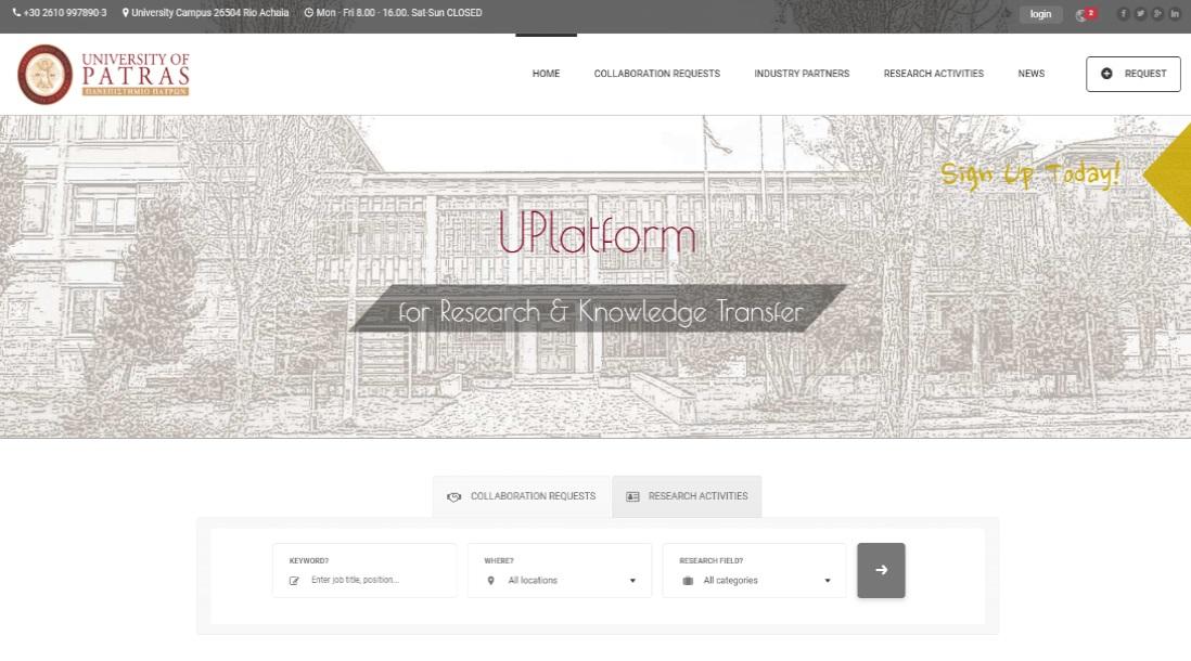 uplatform.upatras.gr